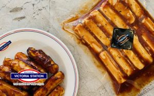 Victoria Station BBQ Chicken Sausage (Frozen)