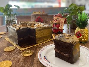 VS Belgium Gold Rush Chocolate Cake