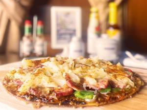 Hawaiian Cured Duck Pizza